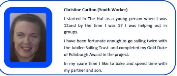 Christine Carlton Youth Worker