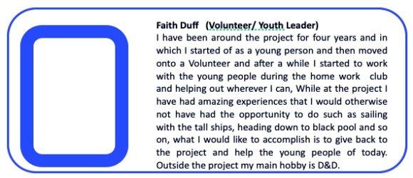 Faith Duff Youth Leader