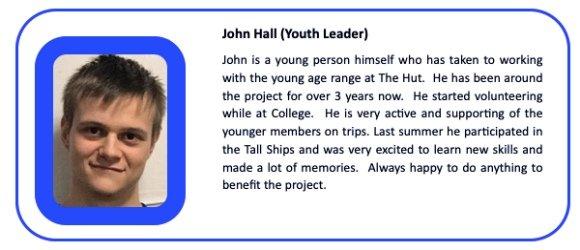 John Hall Youth Leader