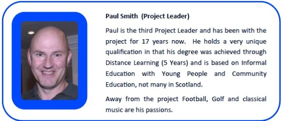 Paul Smith (Project Leader)