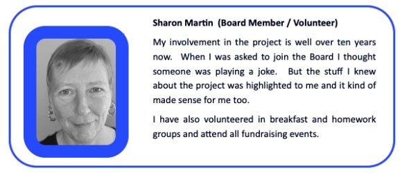 Sharon Martin Board Member Volunteer